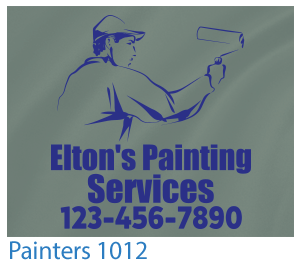 Custom T-shirts Painting Design 1012