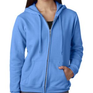 Gildan Missy Fit 50/50 Full Zip Hooded Sweatshirt Thumbnail