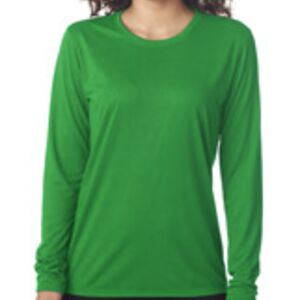Gildan Ladies Performance Long Sleeve T-Shirt Thumbnail